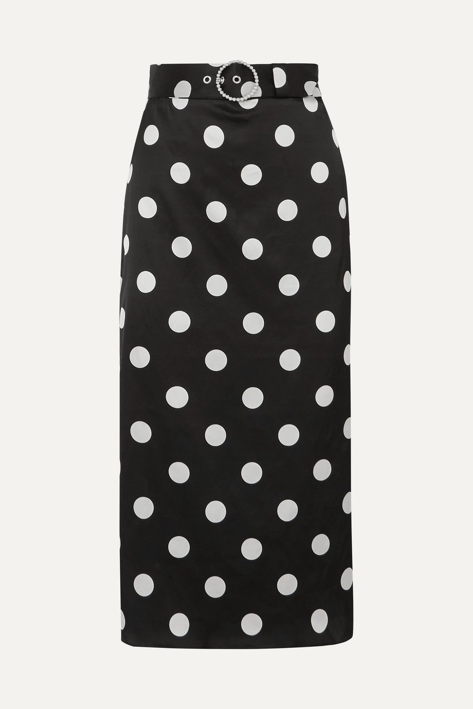 art-dealer-eva-belted-polka-dot-satin-midi-skirt