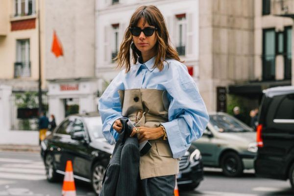 A blue cotton shirt is the basic item your 2020 wardrobe needs