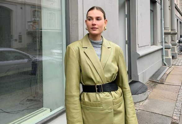 Spotted on the streets of Copenhagen, and beyond: Leather coats