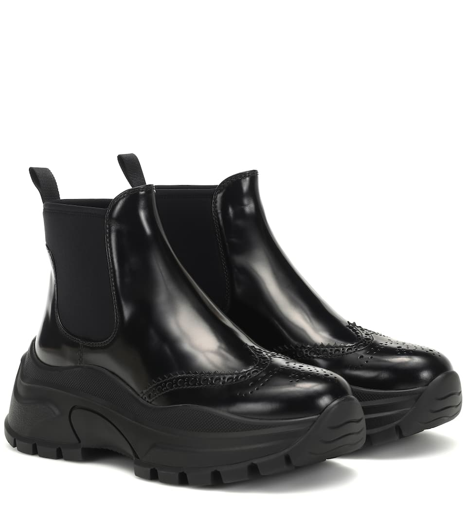 prada-leather-ankle-boots