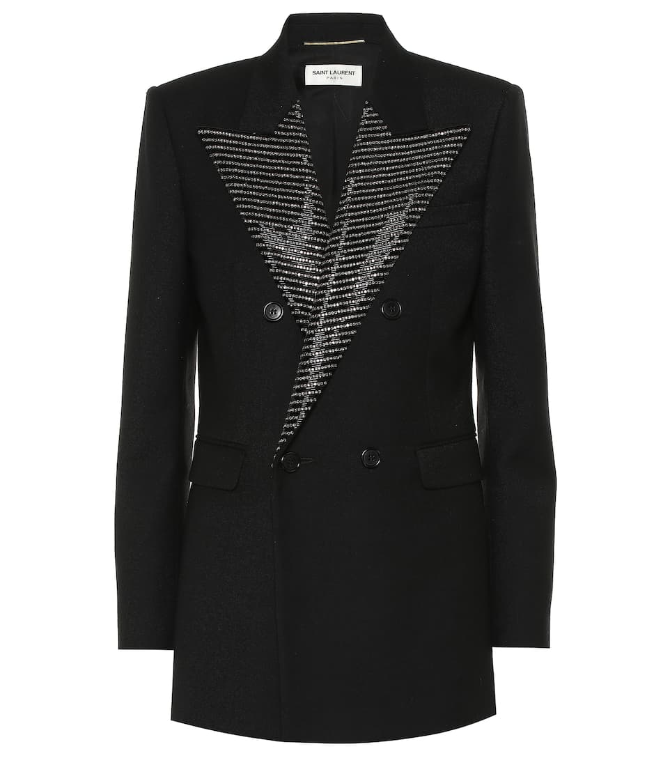 saint-laurent-embellished-wool-blazer