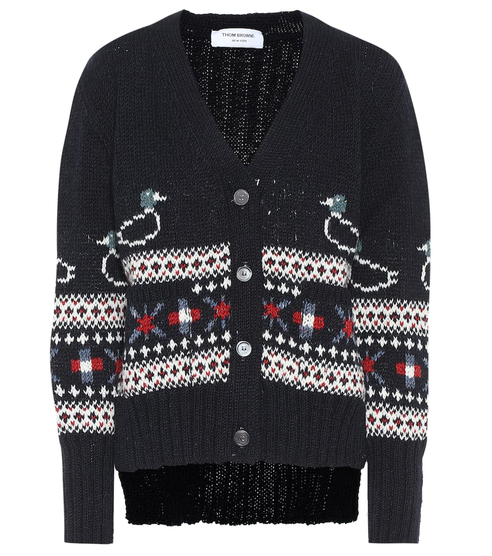 thom-browne-wool-and-mohair-cardigan