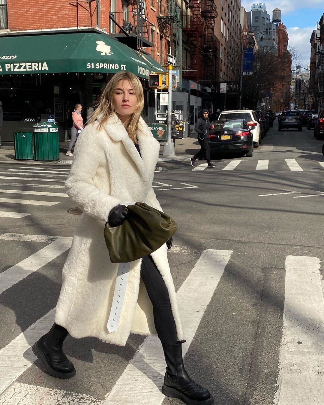 camille-charriere-common-leisure-love-belted-shearling-coat-nyfw