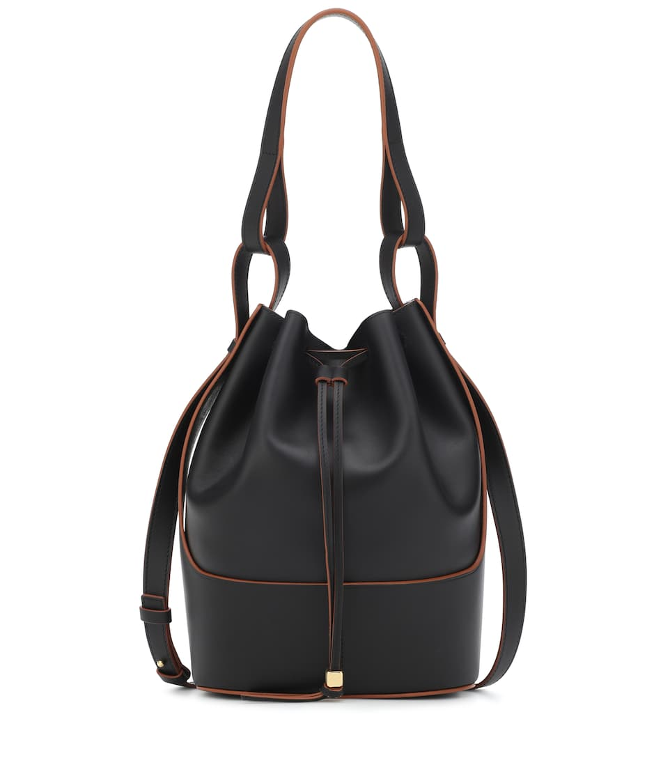 loewe-balloon-medium-leather-shoulder-bag-black