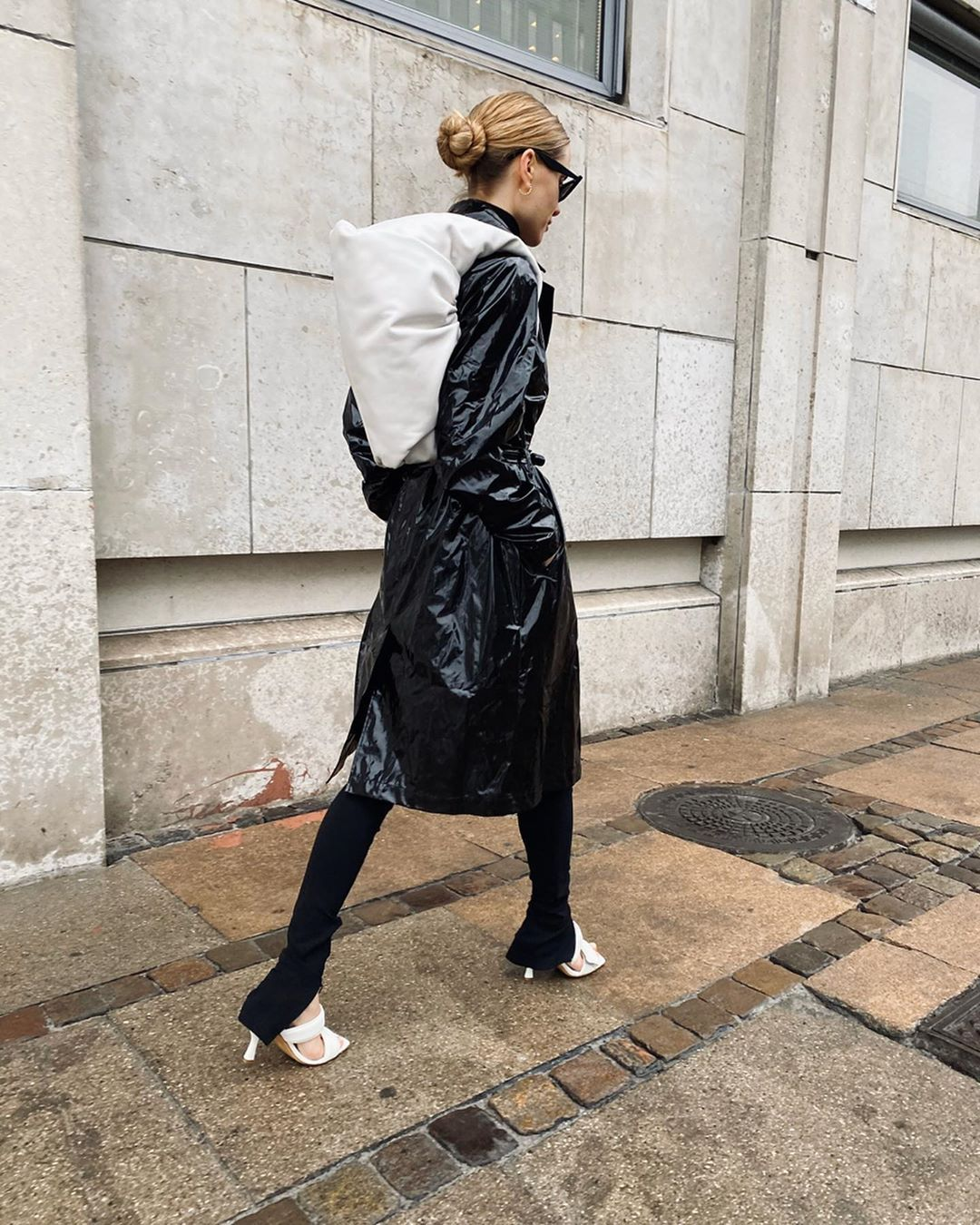 pernille-teisbaek-rains-glossed-pu-trench-coat