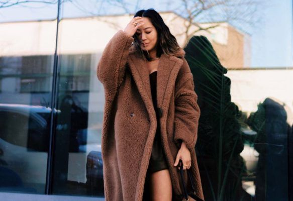 How style girls are baring their legs in New York without risk of freezing