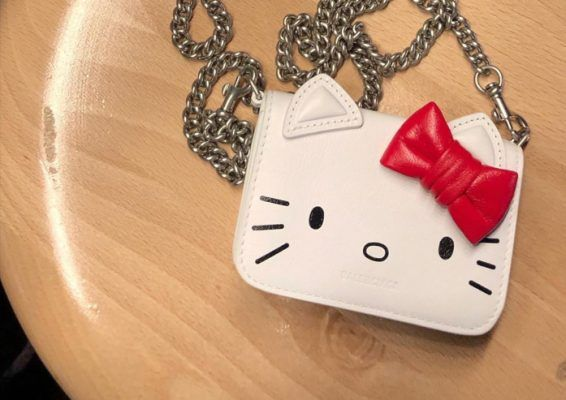 This Balenciaga X Hello Kitty accessories collection will put a smile on your face