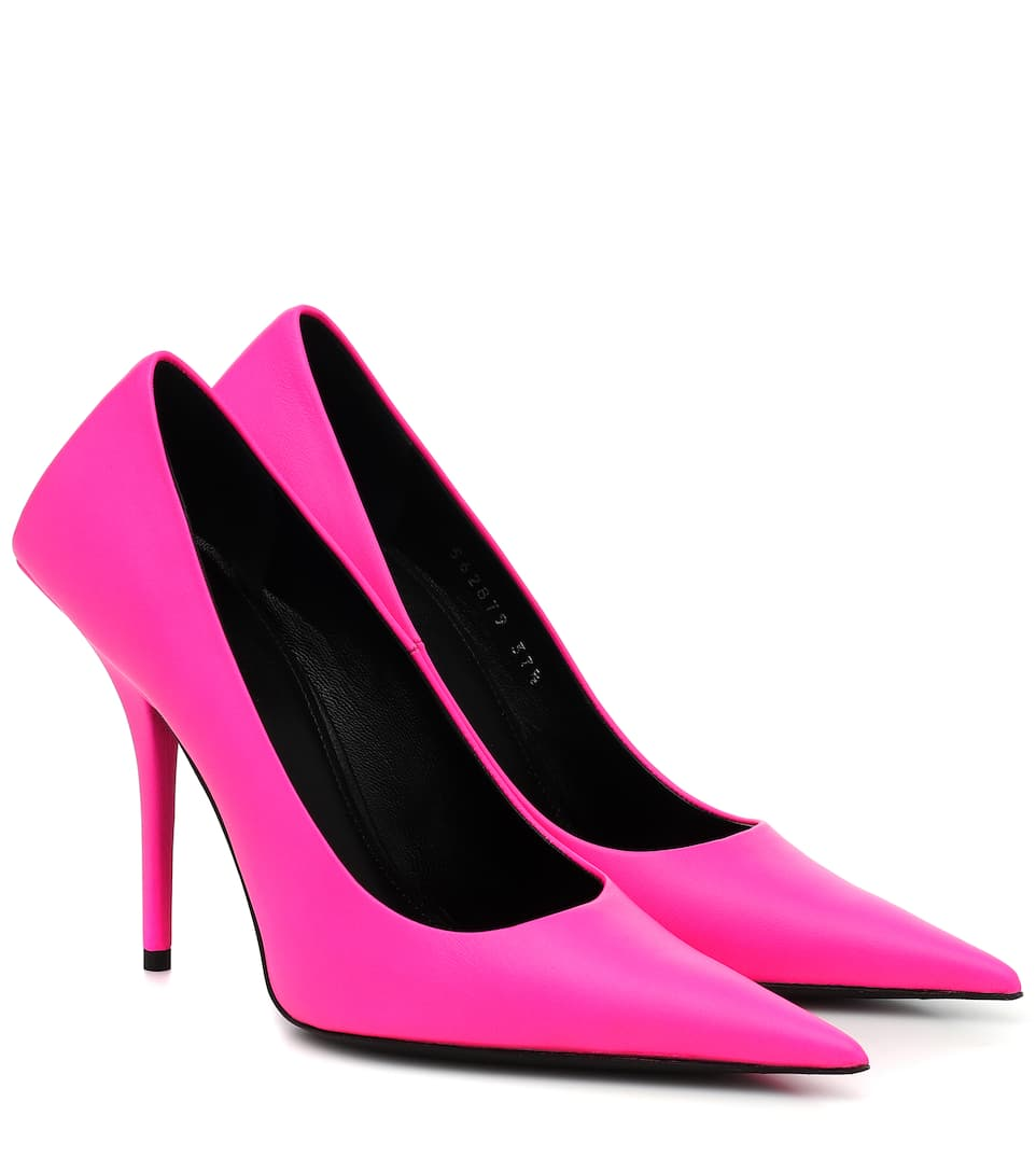 balenciaga-square-knife-leather-pumps-pink