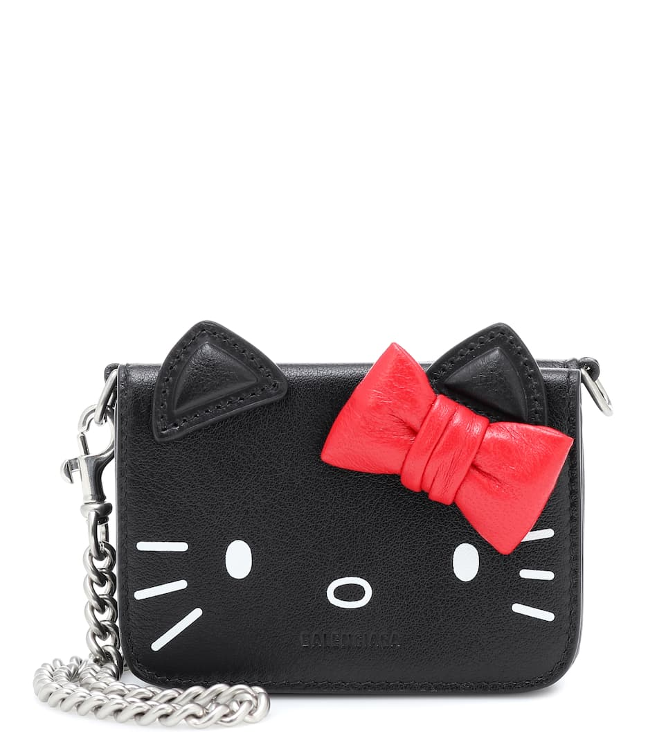 balenciaga-x-hello-kitty-mini-leather-wallet