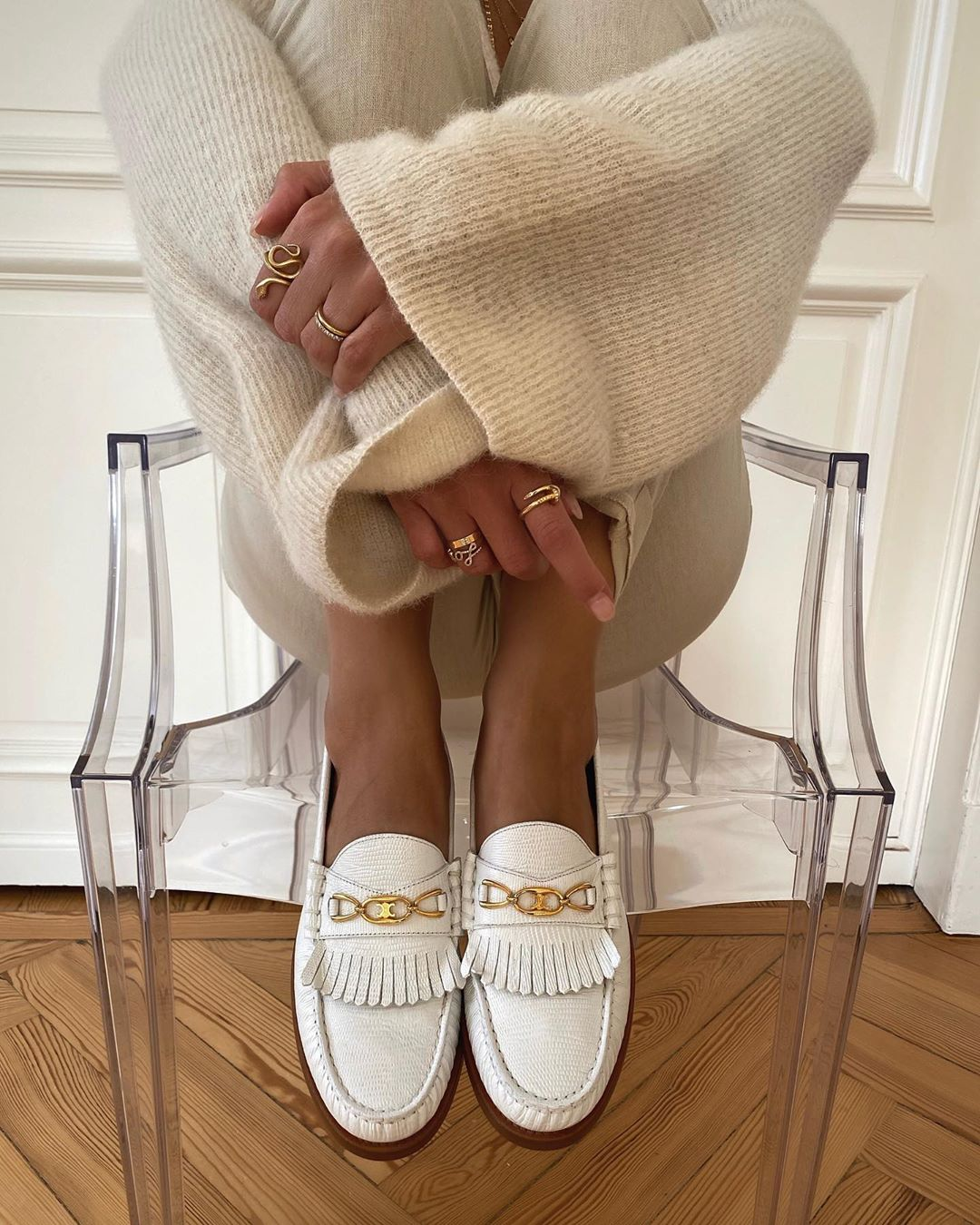 celine-luco-maillon-triomphe-loafers-aylin-koenig-instagram