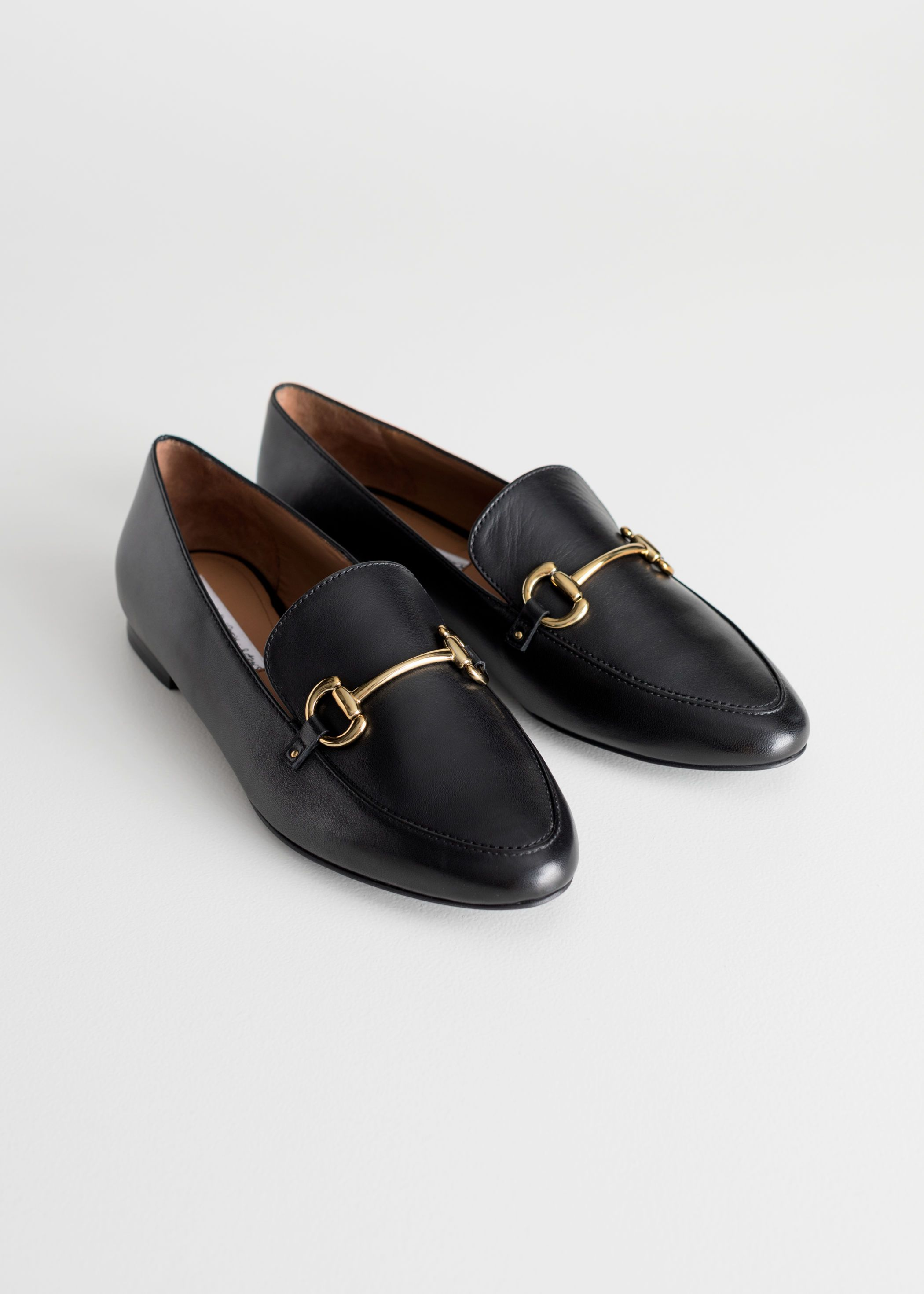 other-stories-equestrian-buckle-loafers