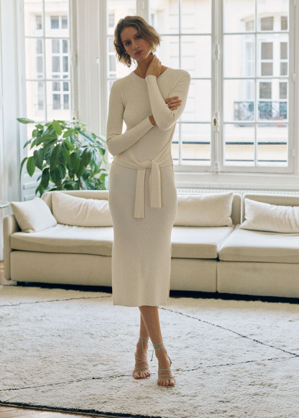 other-stories-ribbed-knot-tie-belted-midi-dress-white