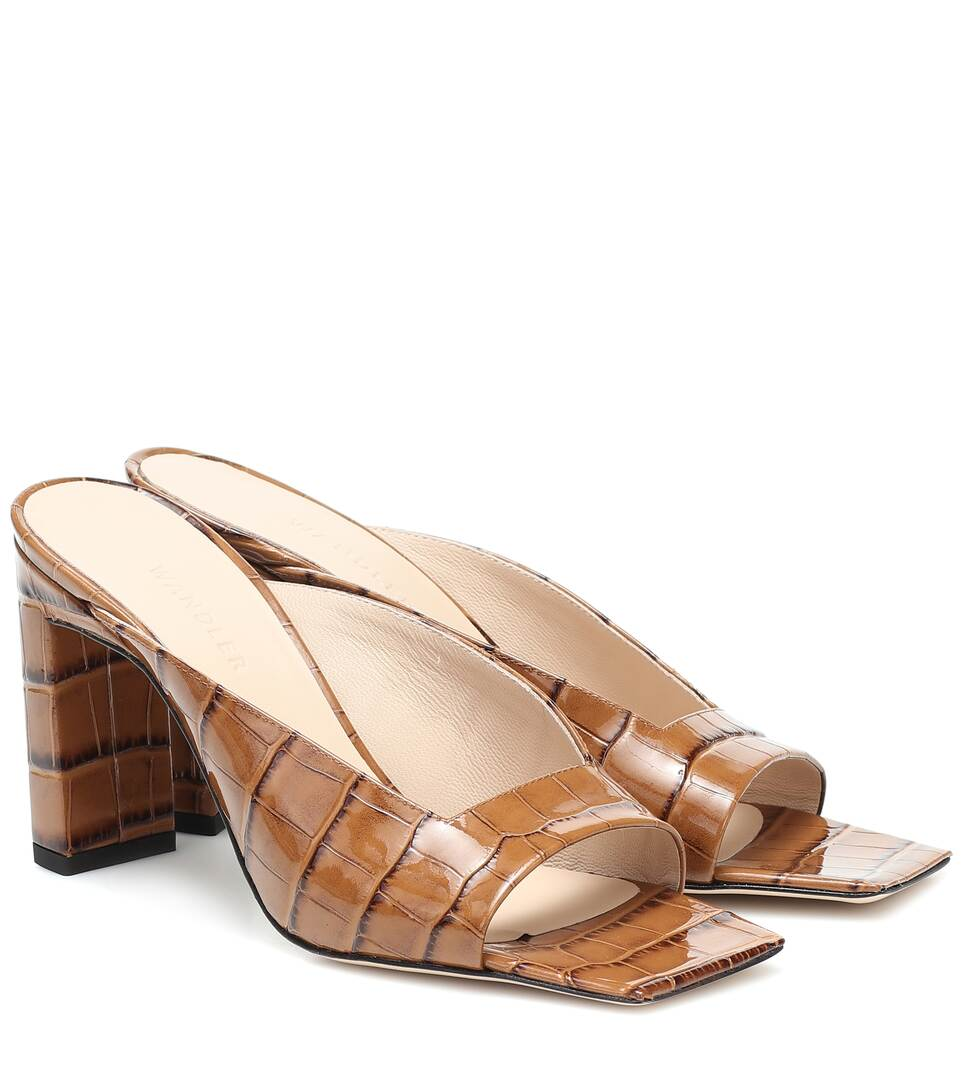 wandler-isa-croc-effect-leather-sandals