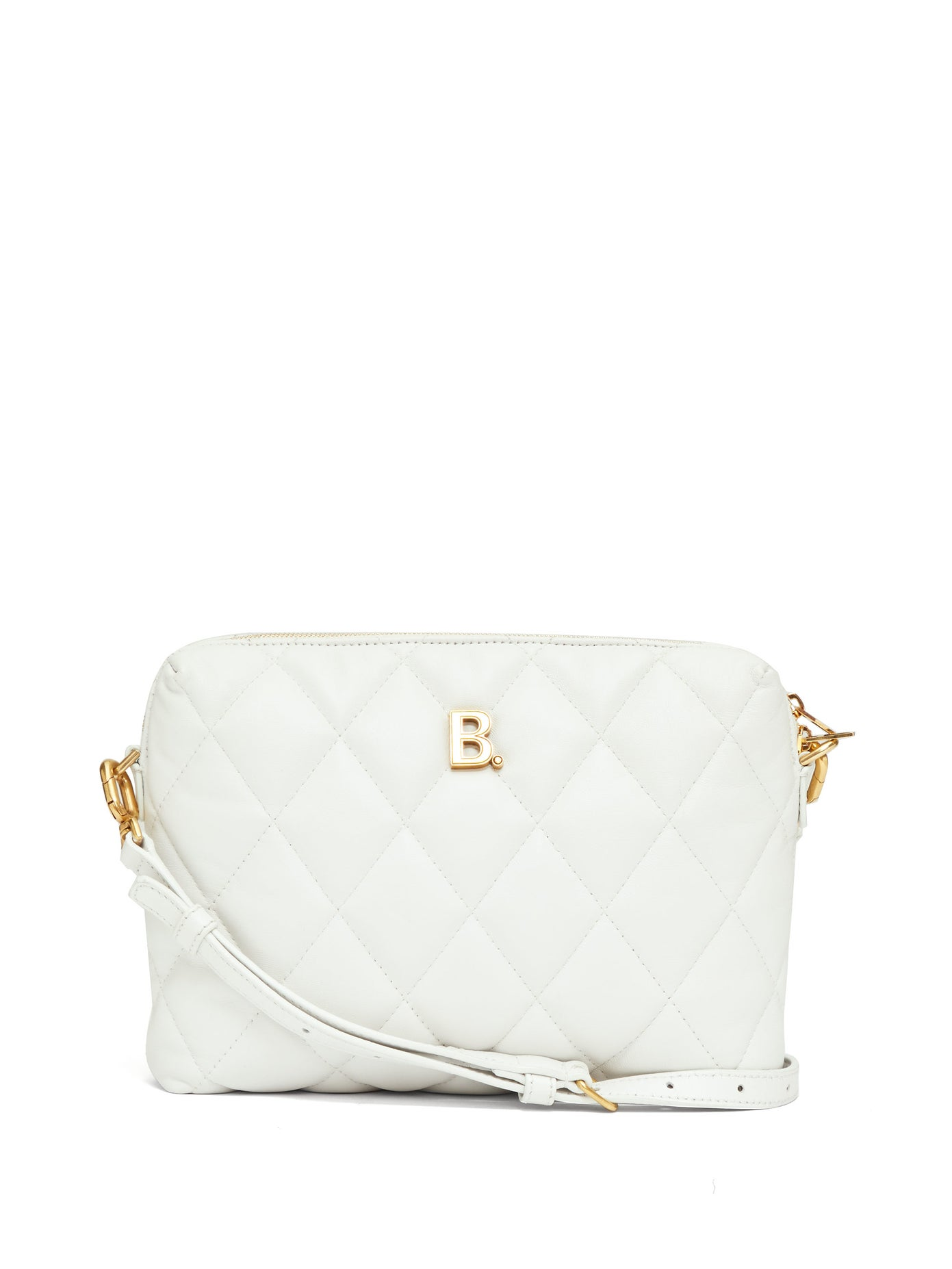 Balenciaga-Touch-small-B-logo-quilted-leather-cross-body-bag-white