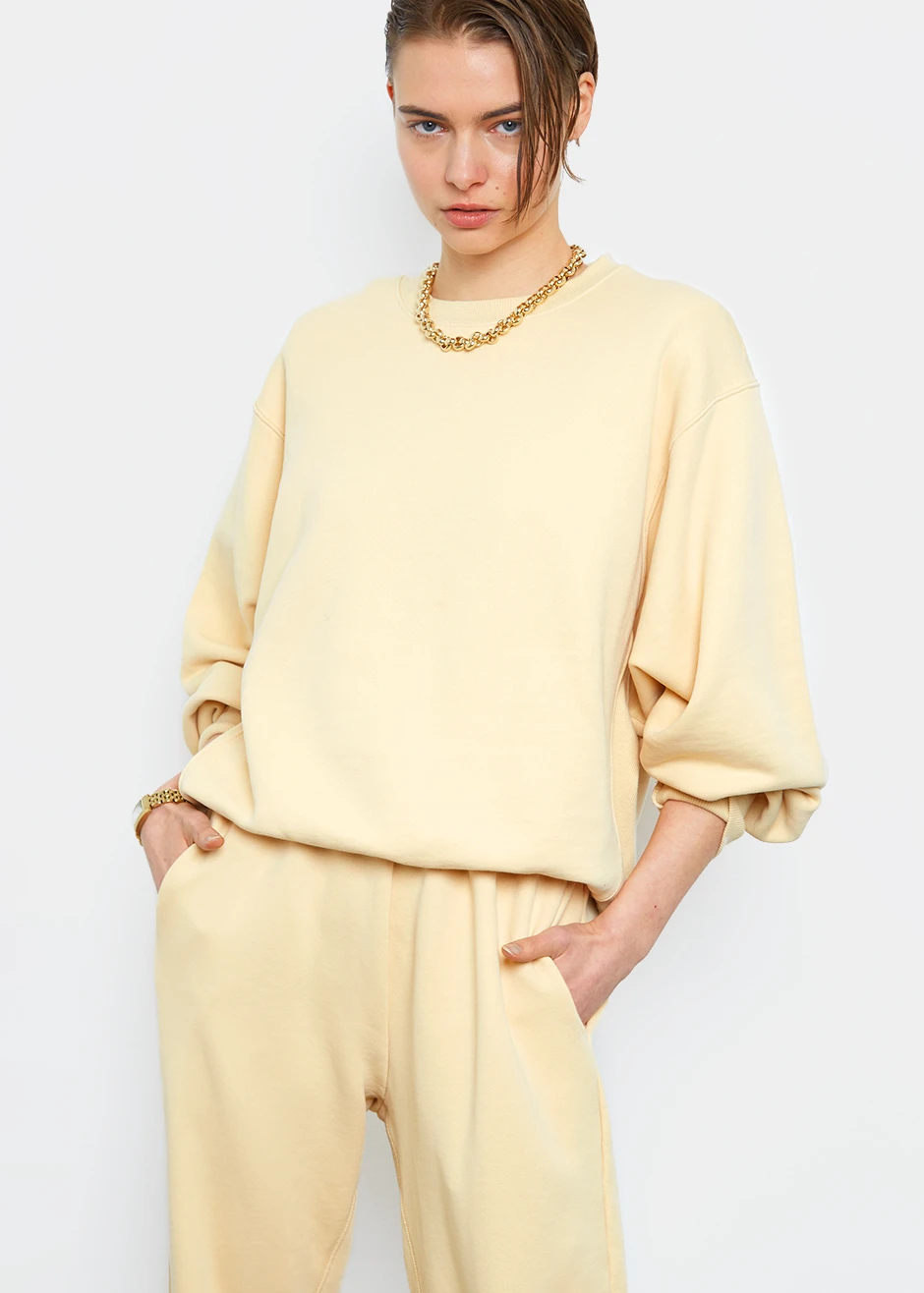 Frankie-Shop-Pale-Yellow-Sweater-Pant-Set