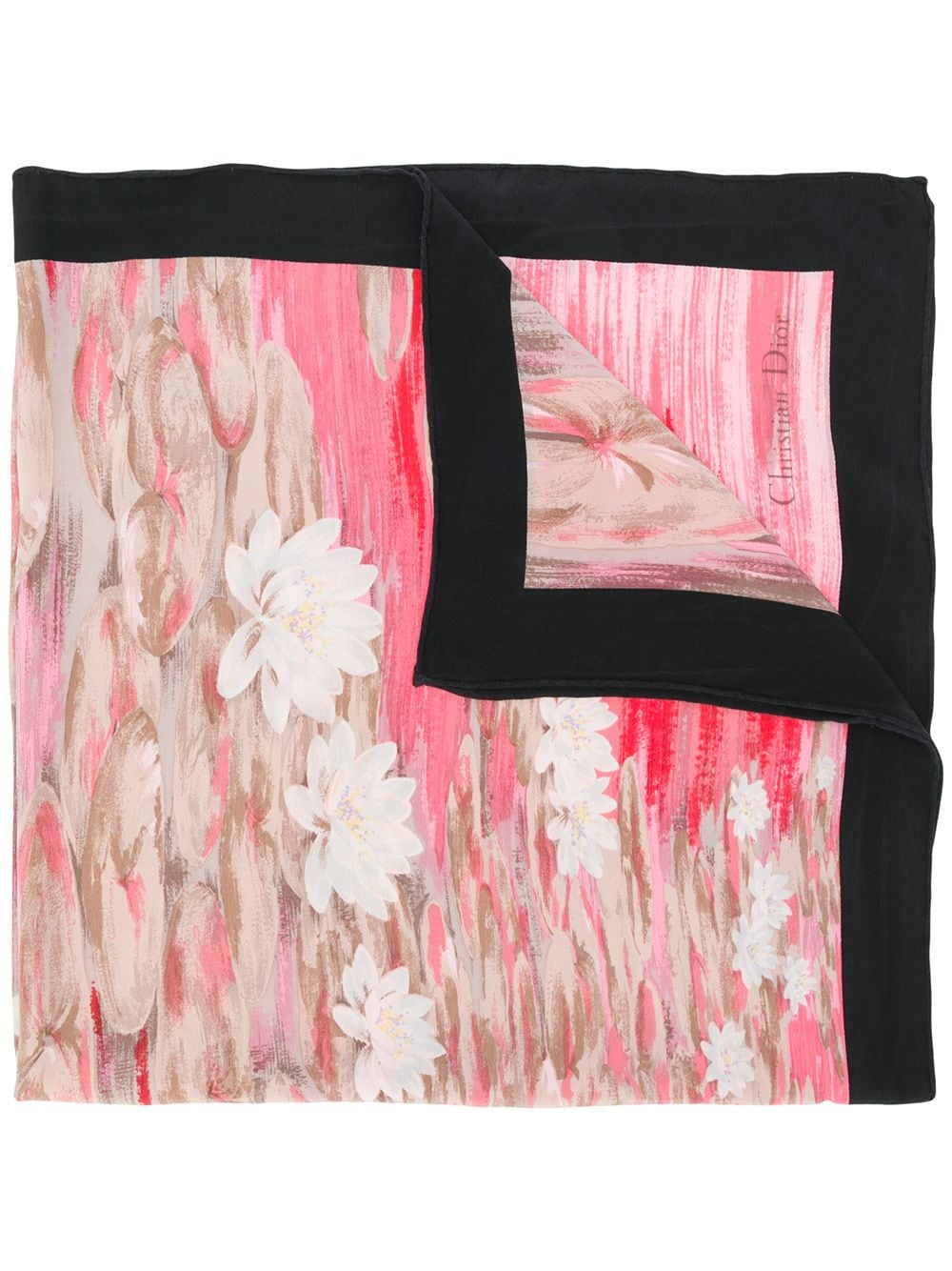 christian-dior-pre-owned-floral-print-foulard