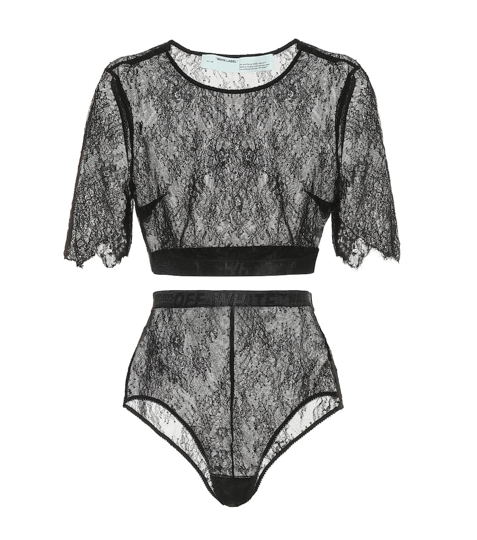 off-white-lace-top-and-bottoms-set