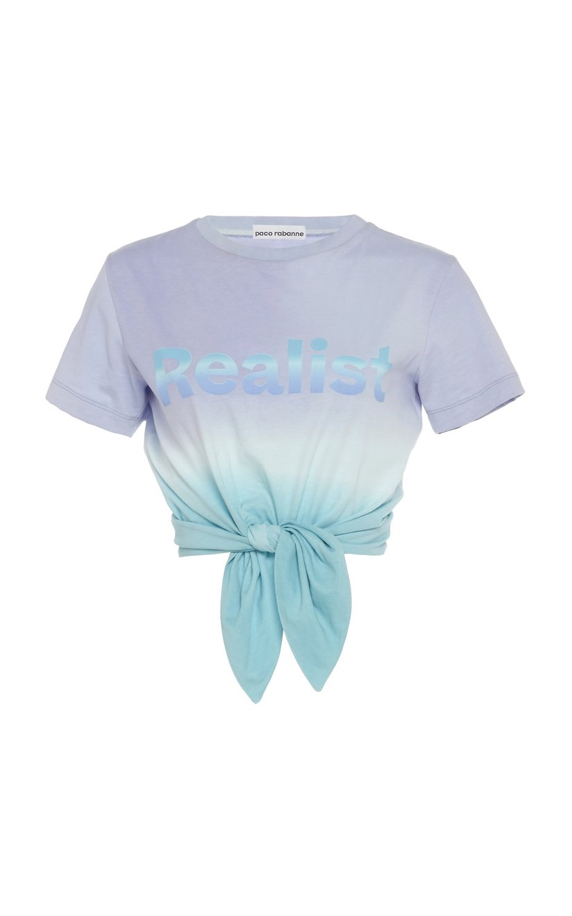 paco-rabanne-multi-tie-front-printed-ombre-cotton-t-shirt