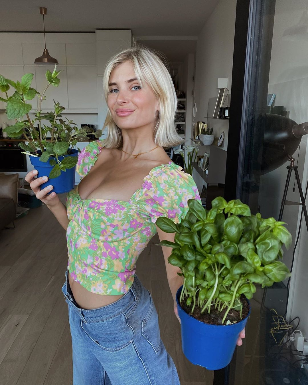 xenia-adonts-floral-top-instagram
