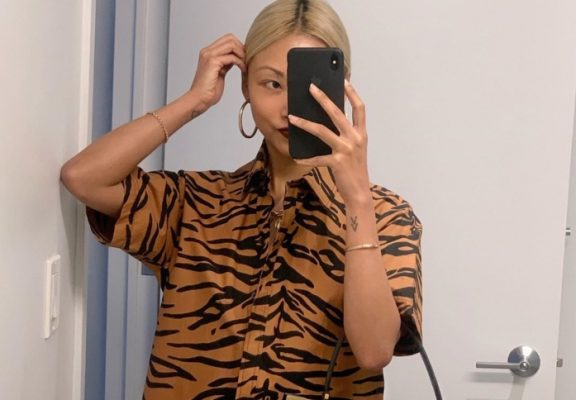 The printed shirt every influencer is wearing this season