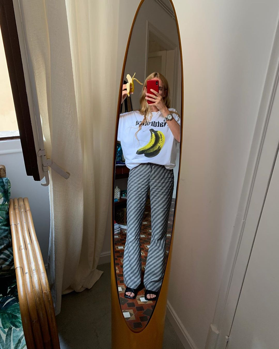 blanca-miro-christopher-kane-banana-t-shirt-instagram