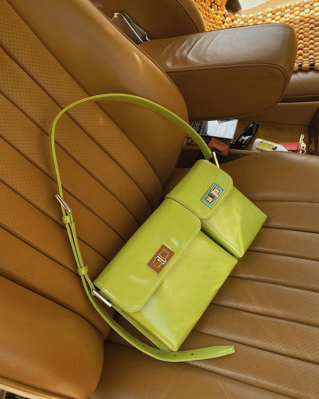 by-far-billy-dual-pouch-lime-green-patent-leather-alyssa-coscareli-instagram