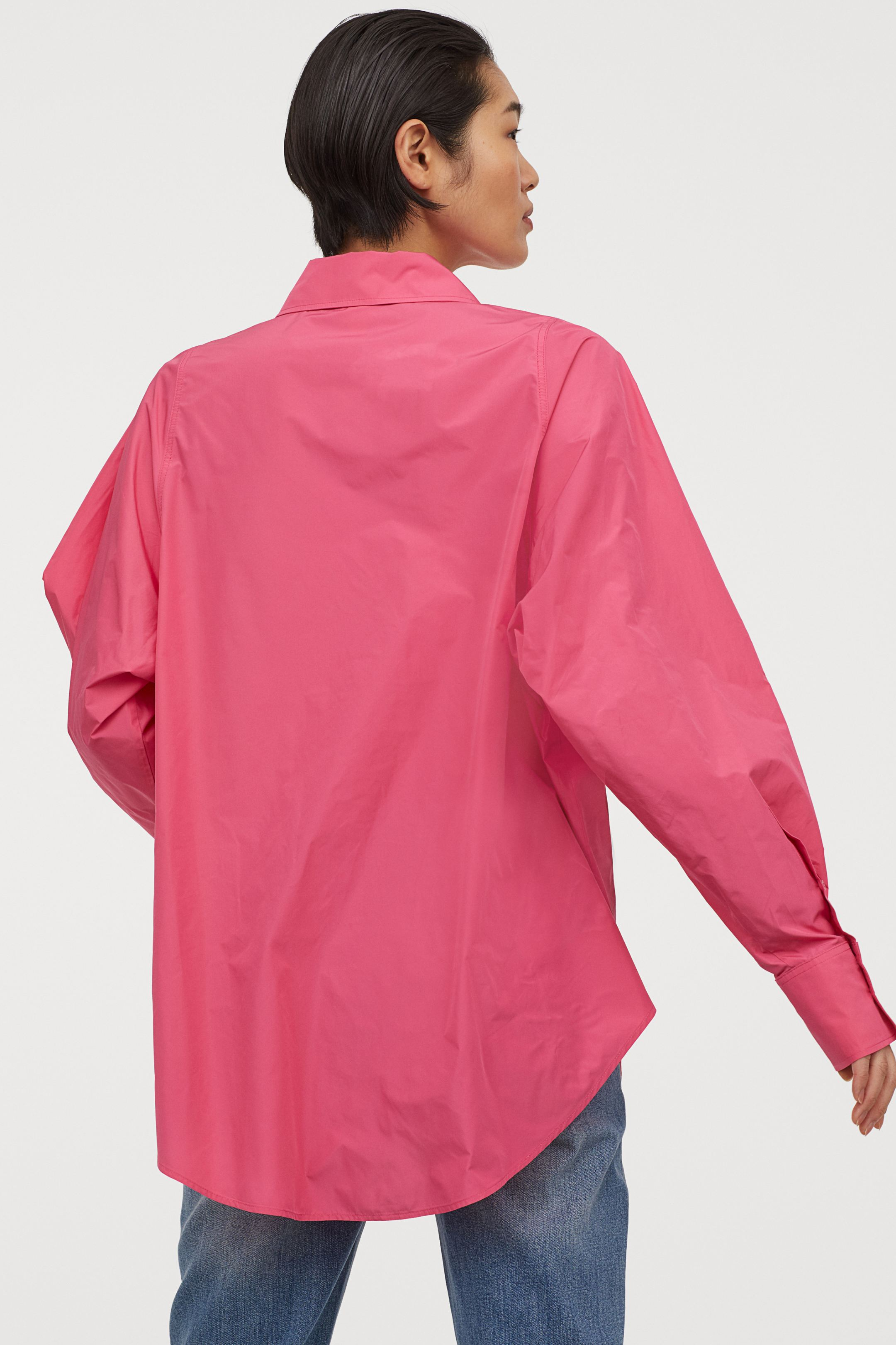 hm-wide-cut-shirt-cerise