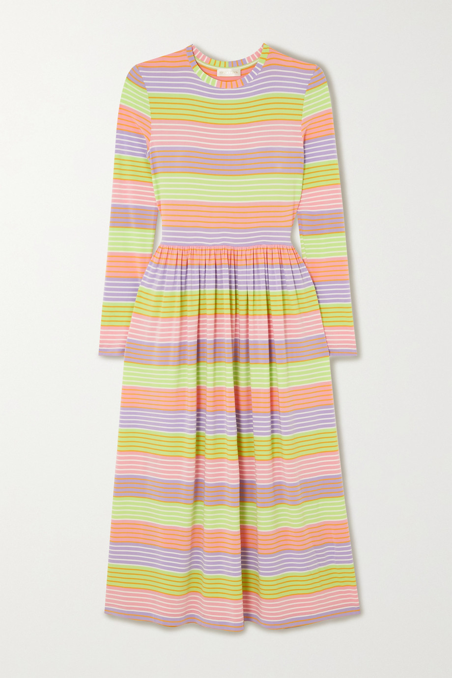 joel-striped-stretch-jersey-midi-dress
