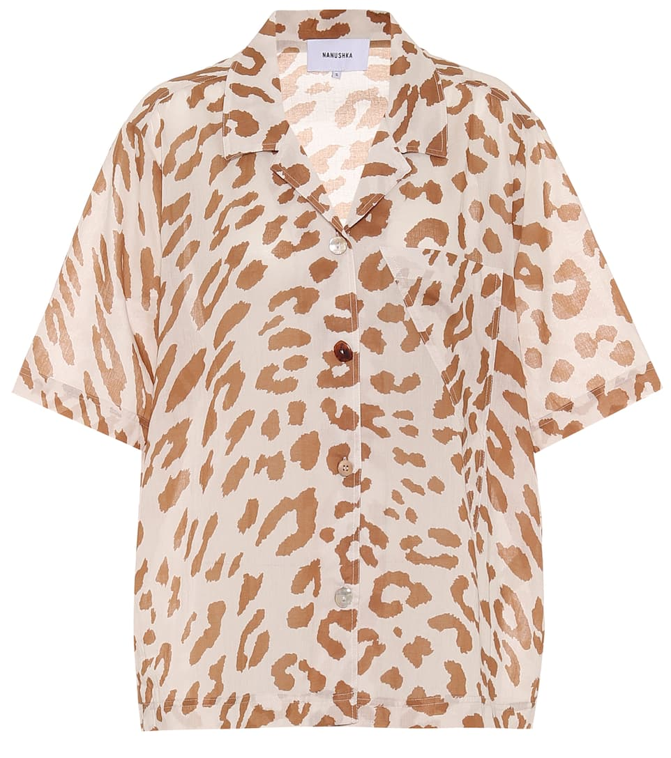 nanushka-taio-animal-print-cotton-shirt