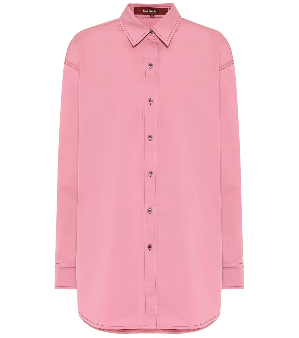 sies-marjan-kiki-stretch-cotton-shirt