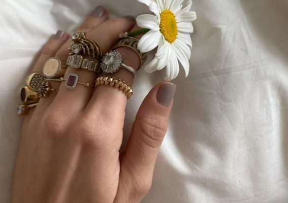How to stack rings like a fashion pro