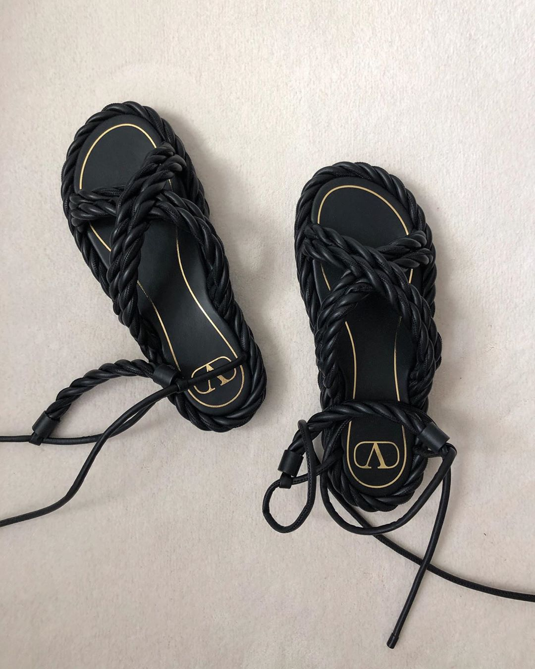 valentino-the-rope-ankle-tie-leather-sandals-black-jeanette-madsen-instagram
