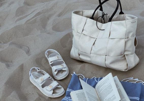 Designer totes that are too cool to bring to the beach, or maybe not…