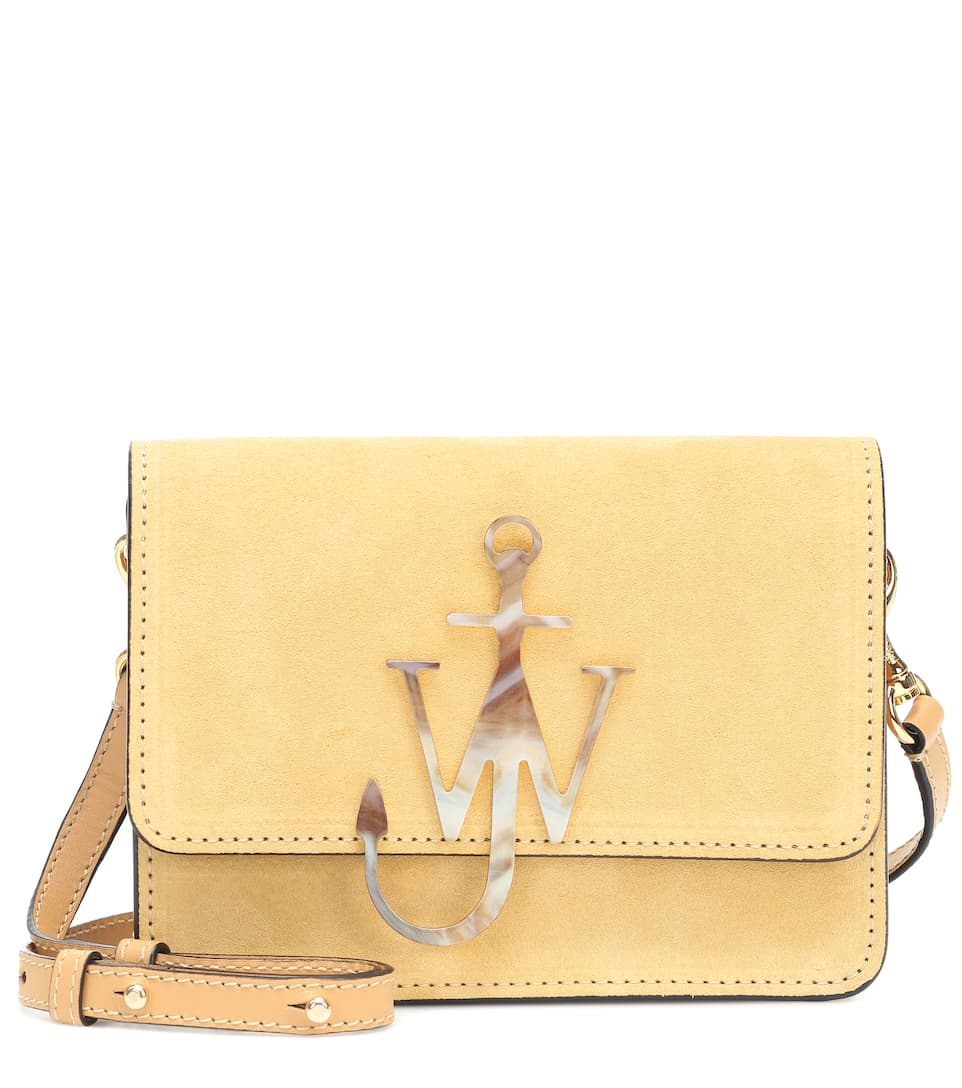 jw-anderson-logo-small-suede-shoulder-bag-straw-yellow-sale