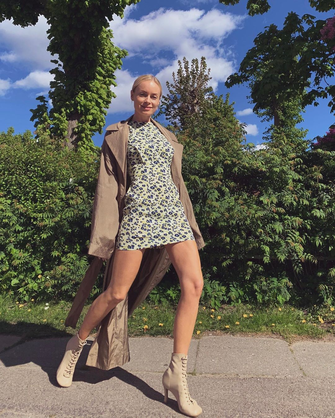 thora-valdimars-rotate-birger-christensen-wanda-daisy-dress-instagram