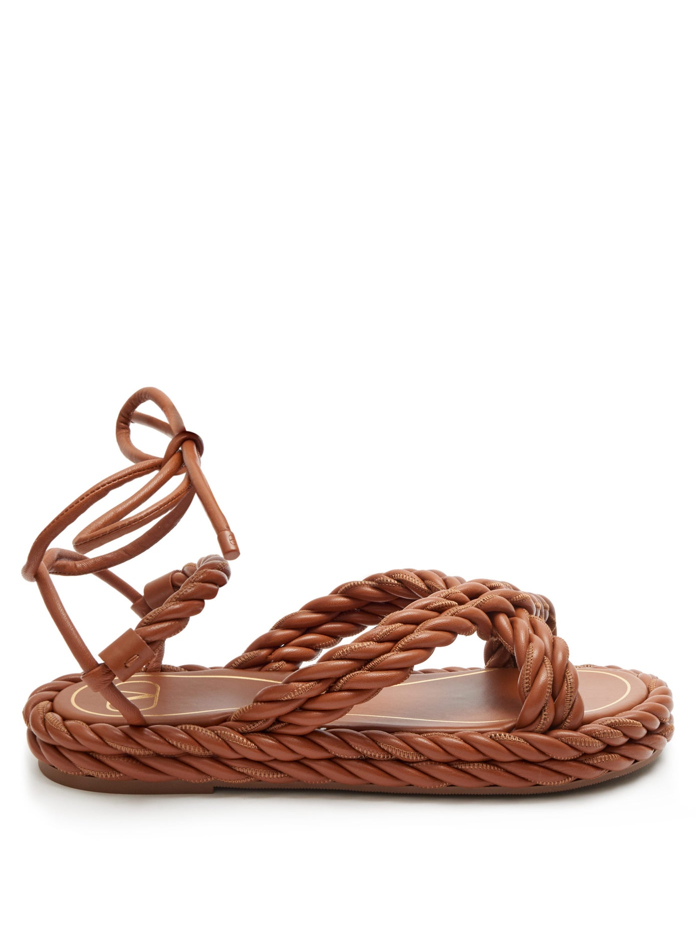 valentino-the-rope-sandals-tan-brown-leather