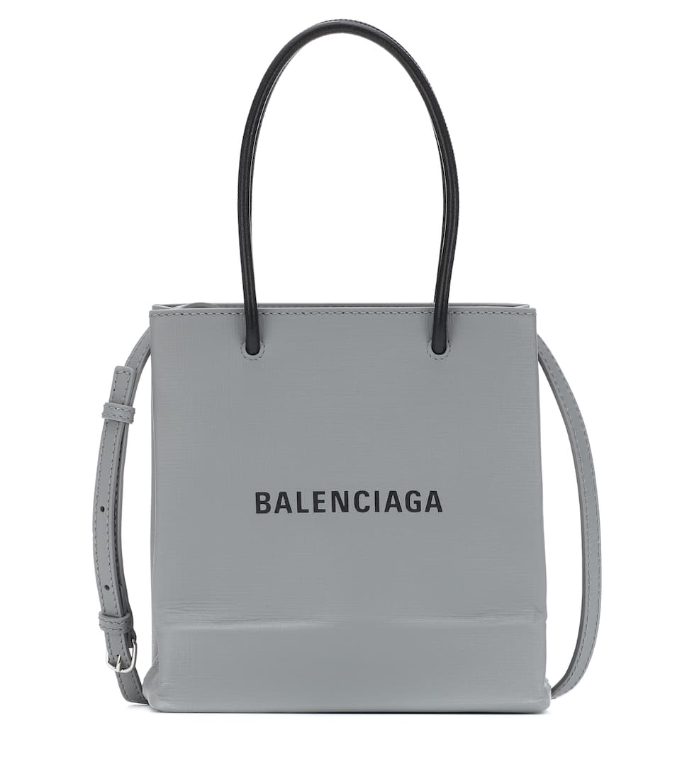 balenciaga-shopping-xxs-leather-tote-silver