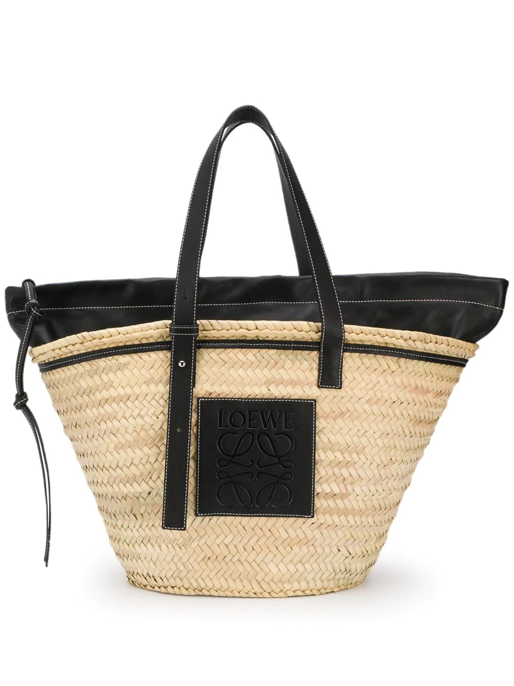 loewe-leather-paneled-straw-tote
