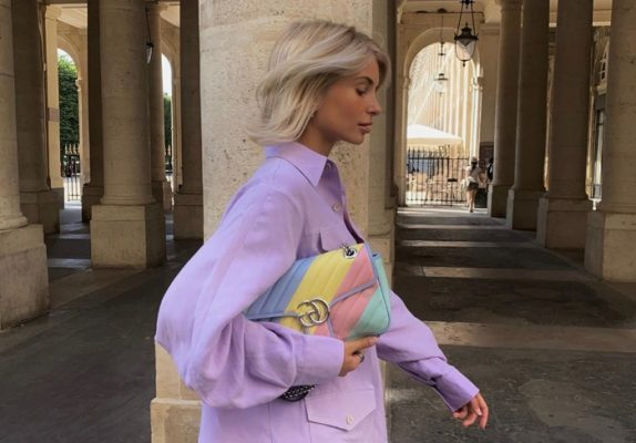 This influencer just carried the Gucci bag of our dreams