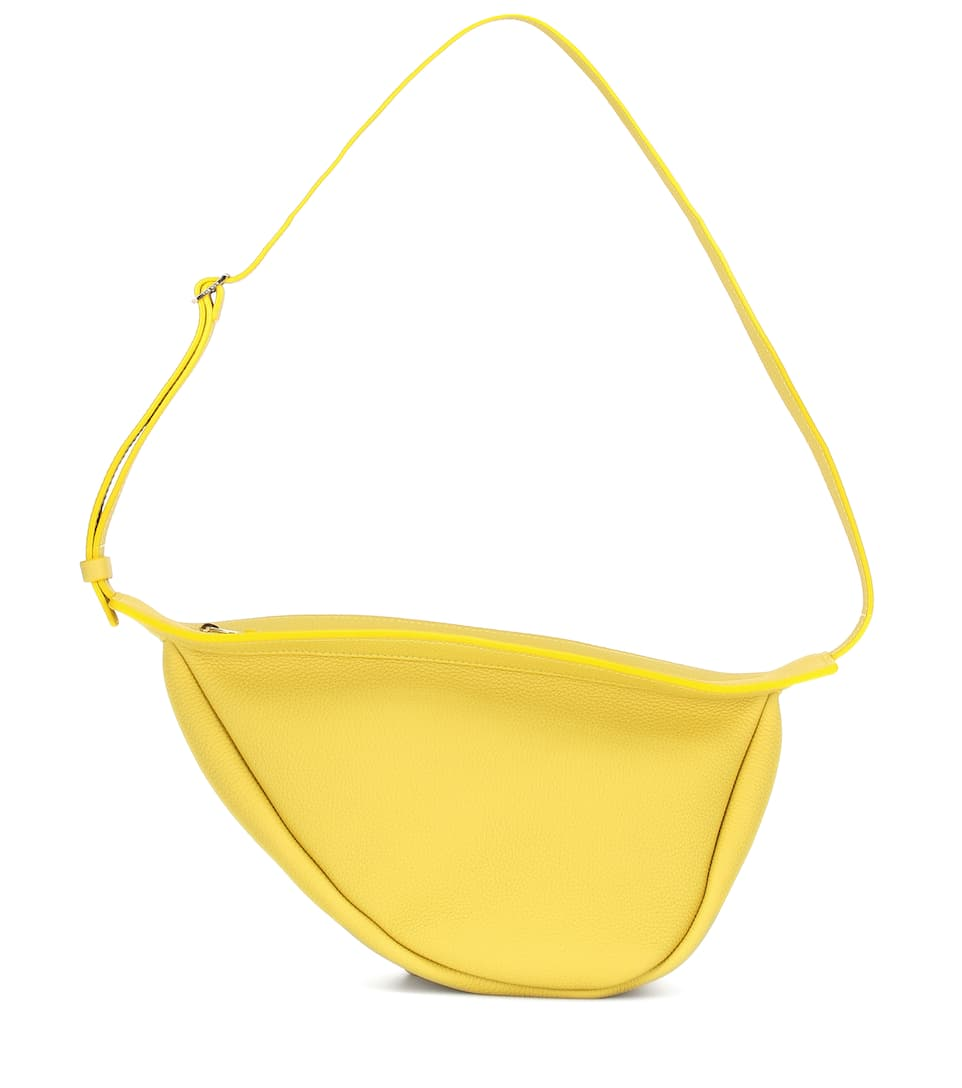 the-row-slouchy-banana-small-crossbody-bag-yellow