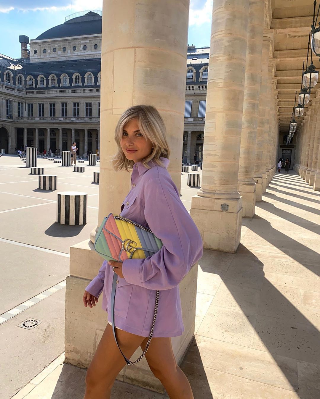 xenia-adonts-gucci-gg-marmont-multicolored-pastel-diagonal-matelasse-leather-small-shoulder-bag-instagram