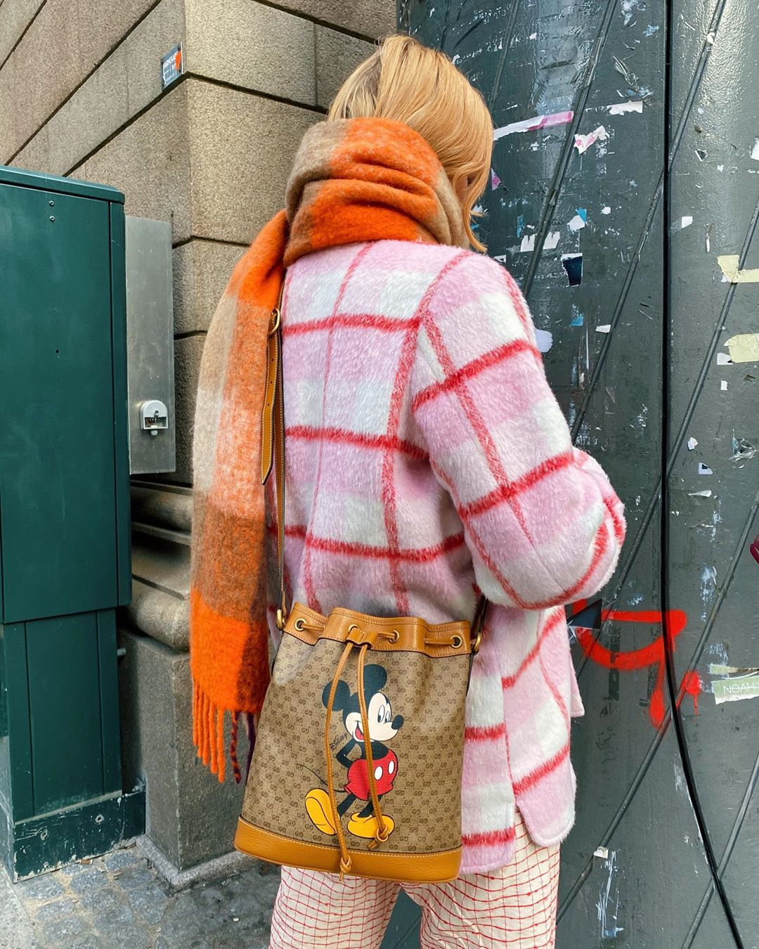 marianne-theodorsen-gucci-x-disney-gg-supreme-canvas-bucket-bag-instagram
