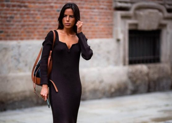 This dress trend I spotted during #MFW proves you can be both comfy and stylish
