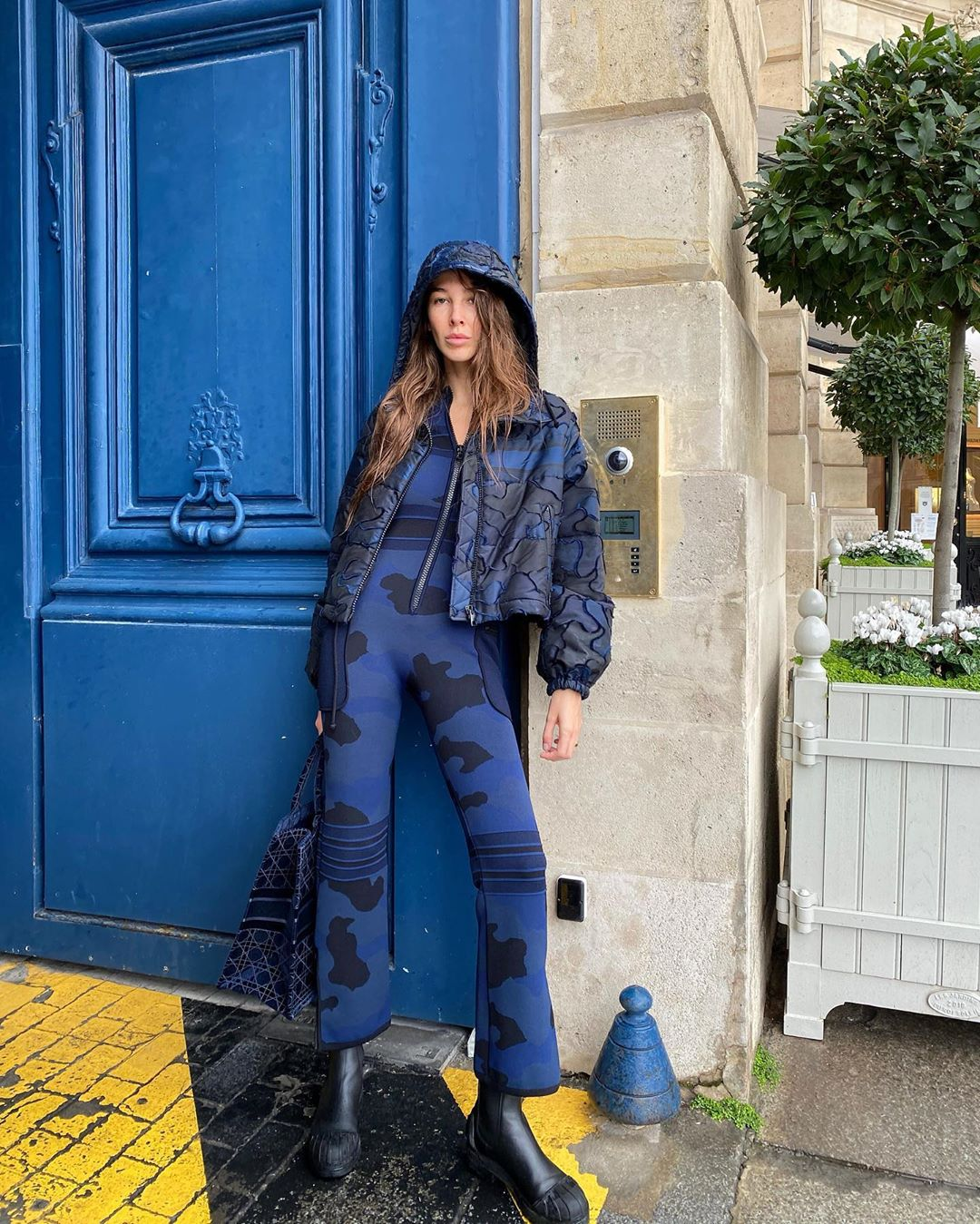 estelle-chemouny-dior-camouflage-outfit-instagram