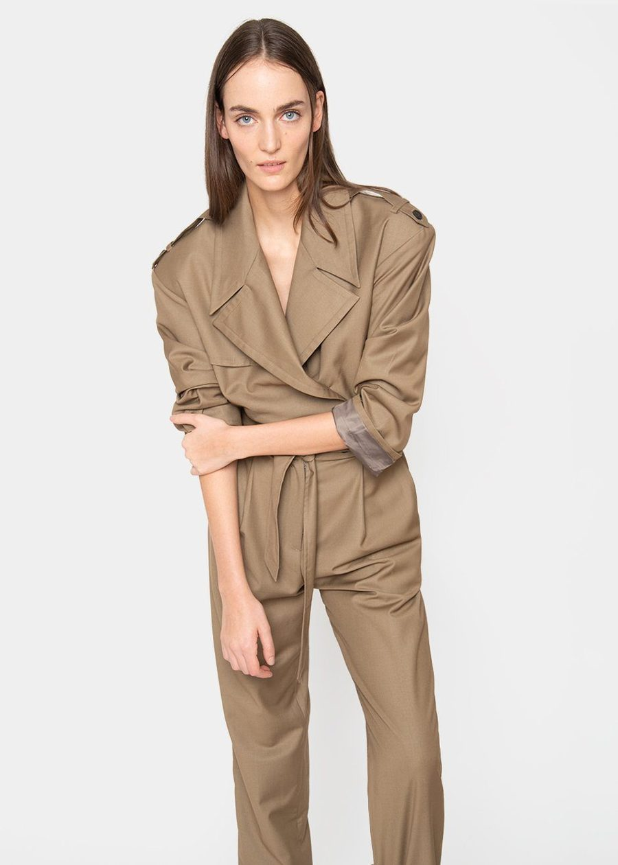 frankie-shop-padded-shoulder-trench-jumpsuit-khaki-brow