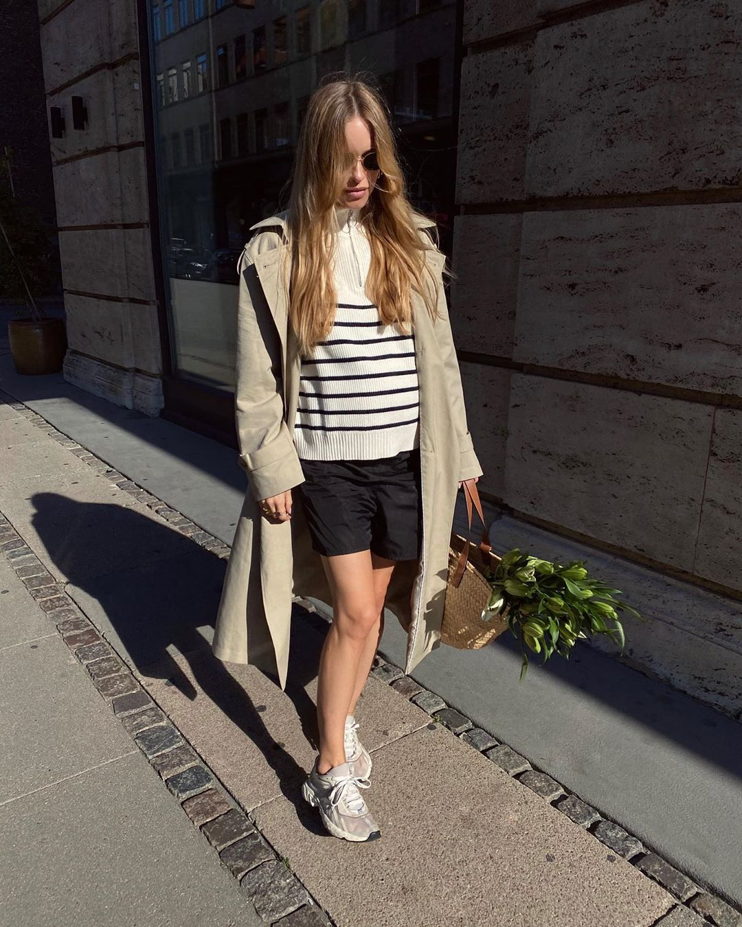 pernille-teisbaek-mango-classic-belted-trench-instagram