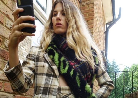 This is exactly how I want to be wearing plaid this fall