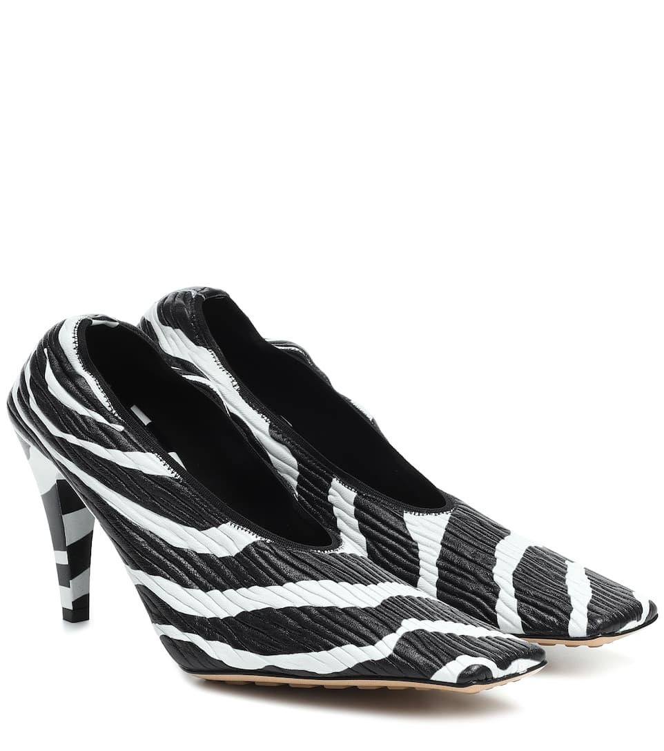 bottega-veneta-zebra-print-leather-pumps