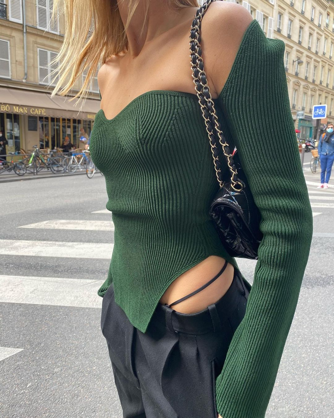 camille-charriere-khaite-maddy-ribbed-knit-top-instagram