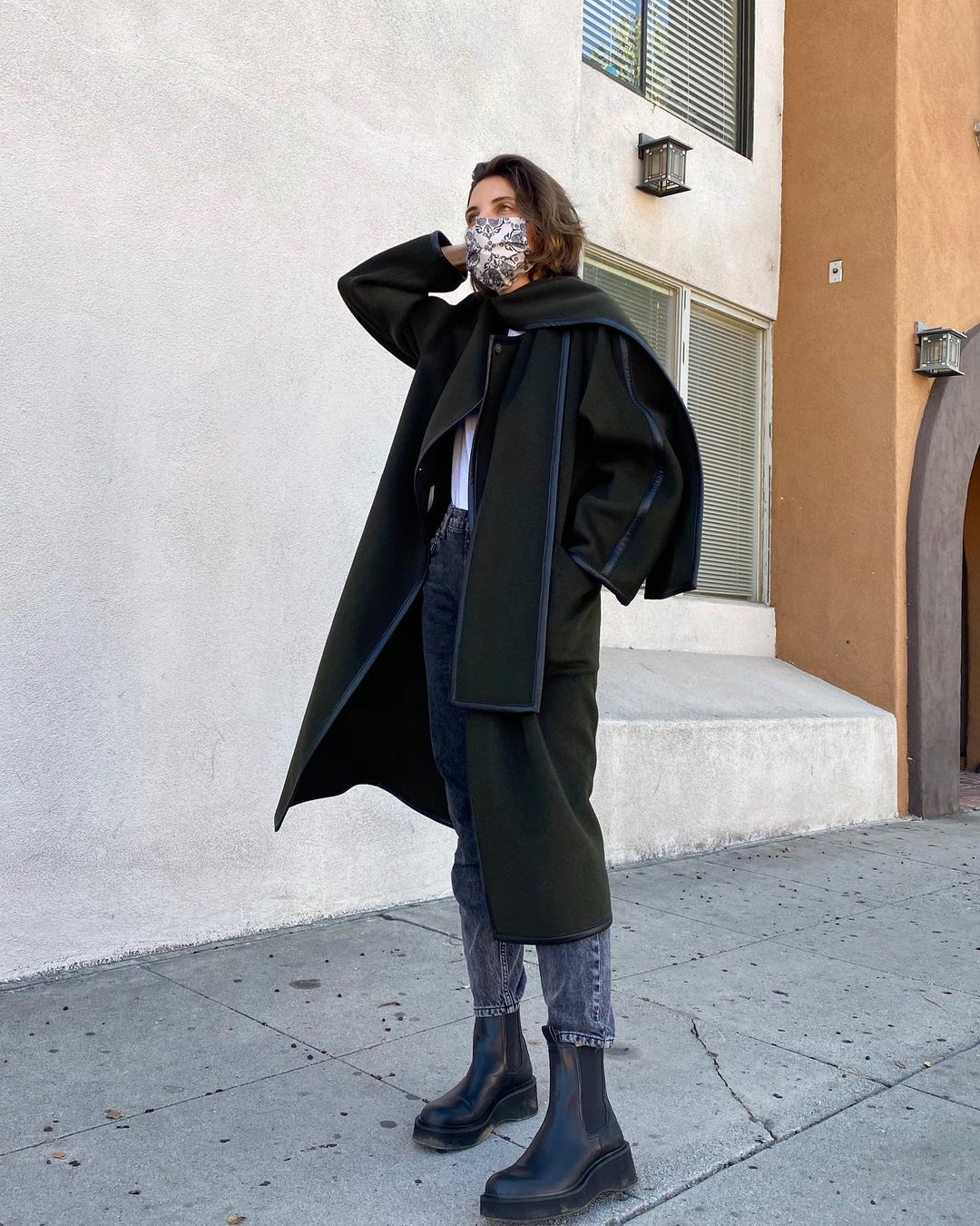 jen-azoulay-mango-straight-cut-wool-coat-instagram